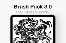 Procreate Lettering Brush Pack 3.0! by  in Brushes