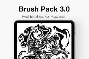Procreate Lettering Brush Pack 3.0!