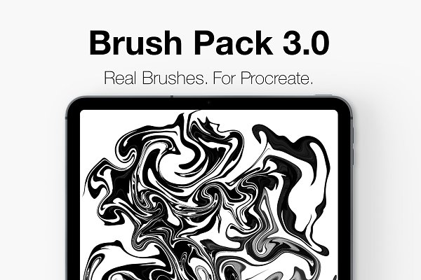 Add-Ons: CalligraphyDK - Procreate Lettering Brush Pack 3.0!