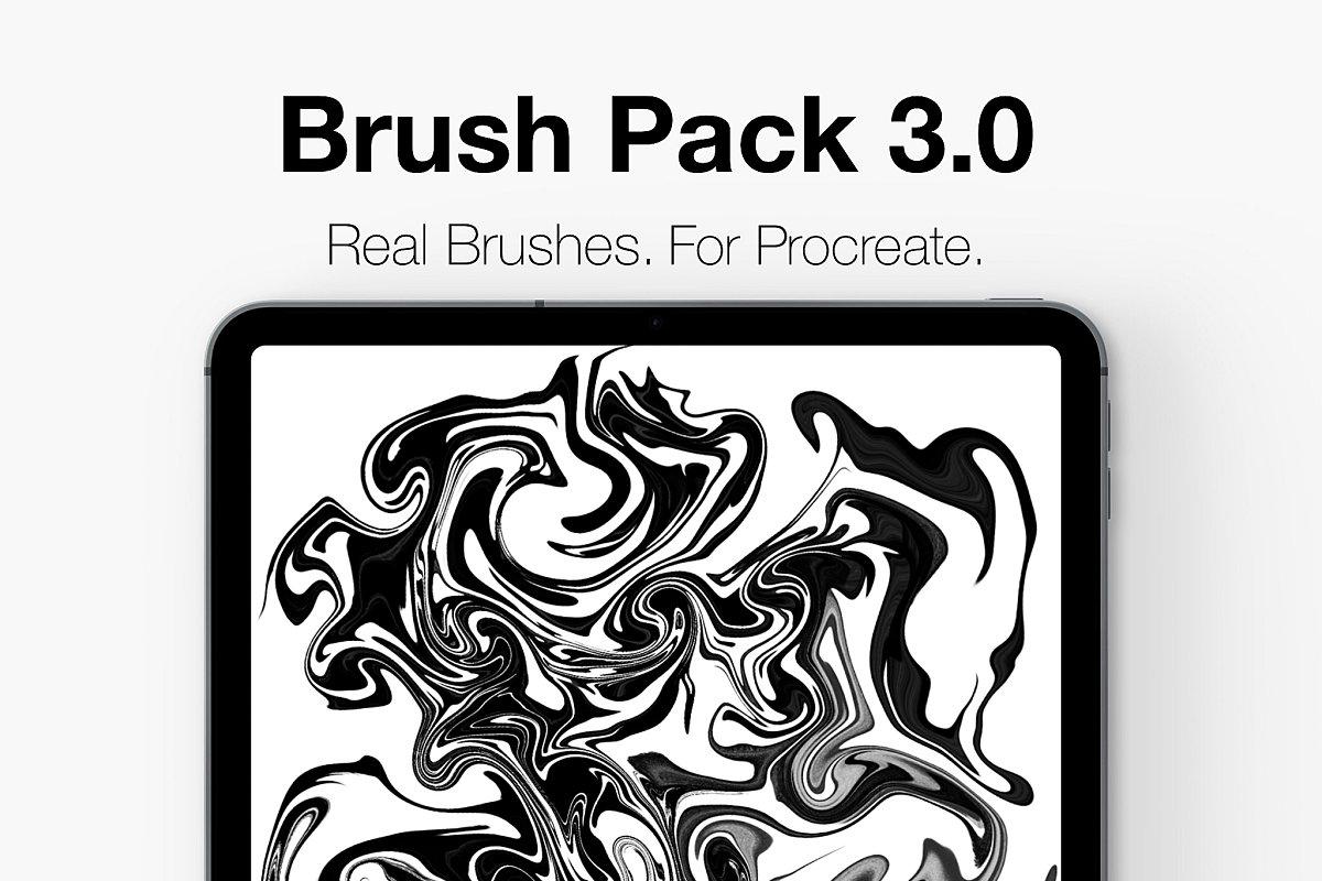 Procreate Lettering Brush Pack 3.0!