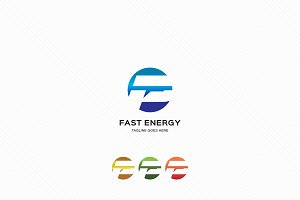 Fast Energy Logo Template