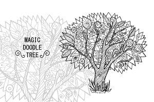 Magic doodle tree