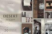 DESERT Social media pack