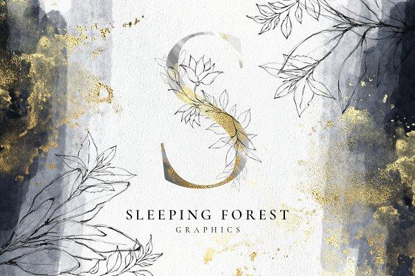 Sleeping Forest Designer Kit