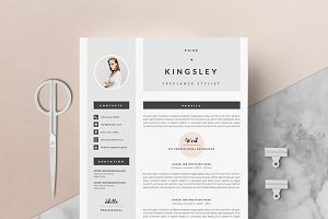 4 page Resume Template | Fast Lane
