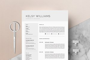 5 page Resume Template | Mist