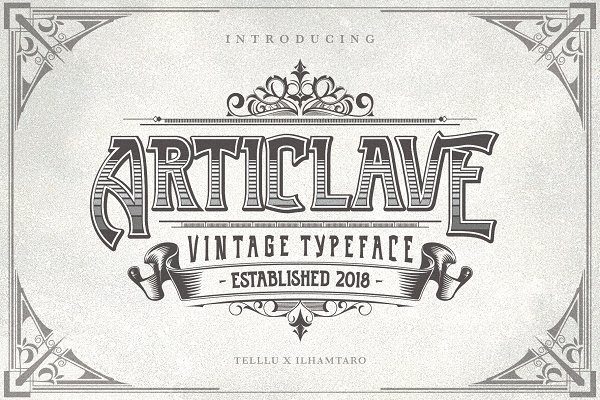 Fonts: Telllu & Friends - Articlave