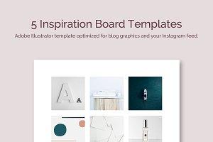 5 Inspiration Board Templates