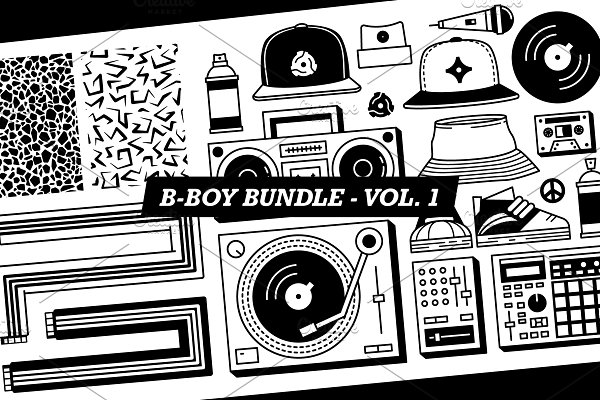 B-Boy Bundle - Vol 1