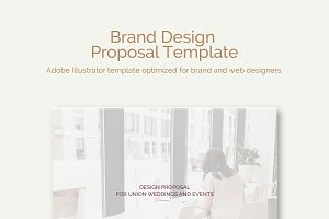 Brand Design Proposal Template