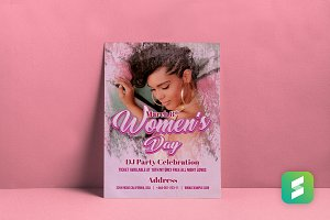 Party-Women's Day Flyer Print Ready