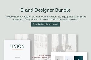 15 Brand Guidelines Templates Bundle Brochure Templates Creative
