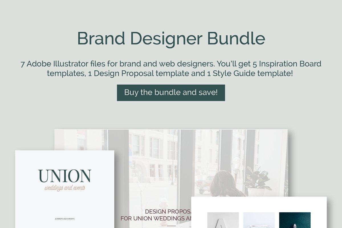 Brand Designer Bundle ~ Brochure Templates ~ Creative Market