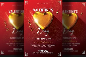Valentines Day Invitation Flyer