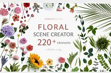 Floral and Greenery Scene Creator