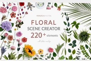 Floral and Greenery Scene Creator