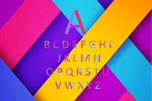 Fun font vector