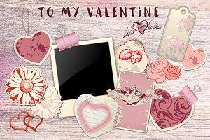 Romantic Valentine Design Kit