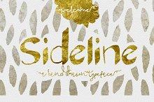 Sideline Bold Typeface