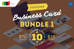 Perfection - Business Card Bundle 1