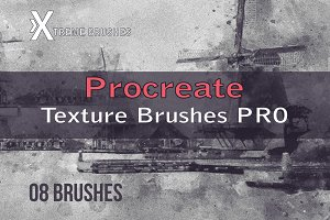 Procreate Textured Brushes PRO