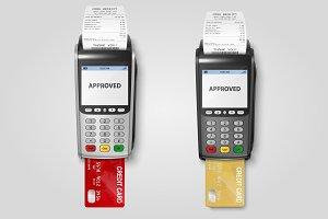 Payment Machine, POS Terminal.