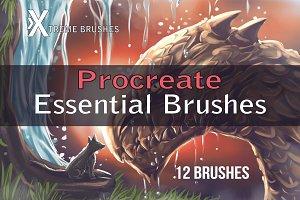 Procreate Essential Brushes!