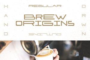Brew Origins Font