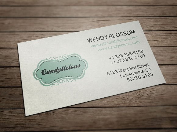 Vintage candy store business card business card templates vintage candy store business card business card templates creative market colourmoves