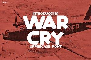 War Cry Font