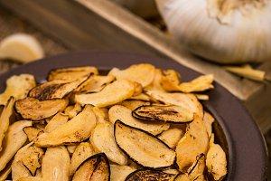 Roasted Garlic Slices