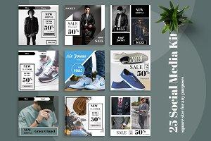 Fashion Promo Social Media Kit