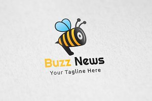 Buzz News - Logo Template