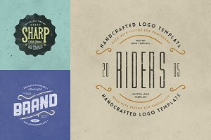 Retro Logo Templates V.03