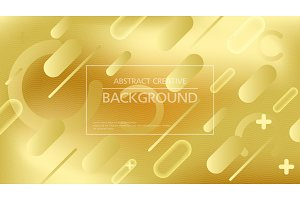 Bright golden abstract backdrop