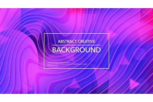 Stylish abstract background in vivid