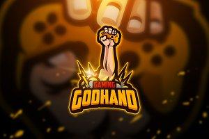 Godhand - Mascot & Esport Logo