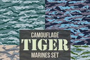 Tiger Marines Camouflage Pattern Set