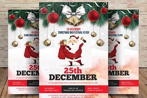 Merry Xmas Party Flyer