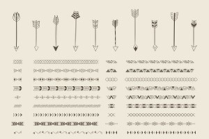 Divider line design elements vector