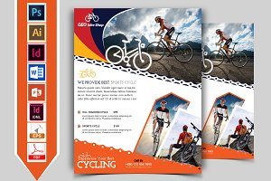 Cycle Shop Flyer Template Vol-02