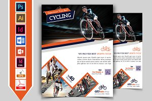 Cycle Shop Flyer Template Vol-01