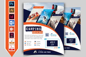 Camping Adventure Flyer Vol-03