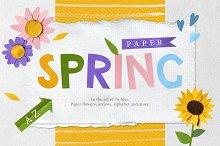 Paper Spring by  in Objects