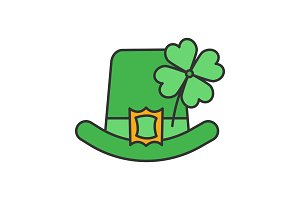 Saint Patrick's Day color icon