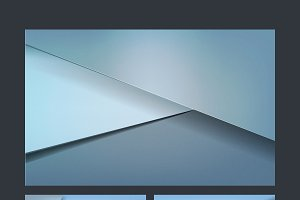 Set of abstract background designs