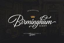 Birmingham - Signature Script by  in Script Fonts