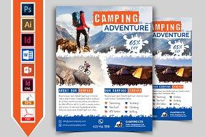 Camping Adventure Flyer Vol-02