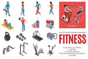 Fitness Isometric Set