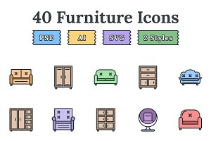 Furniture – Epic landing page icons